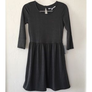 Collective Concepts Nordstrom Dark Gray Soft Dress